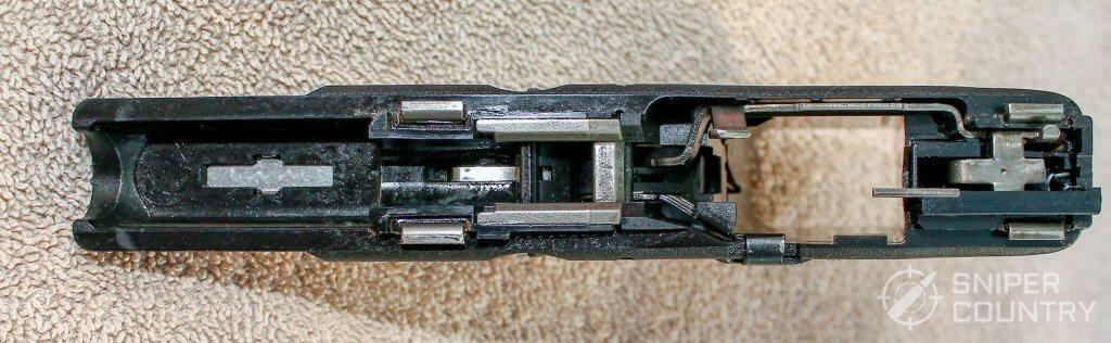 Glock 23 frame top