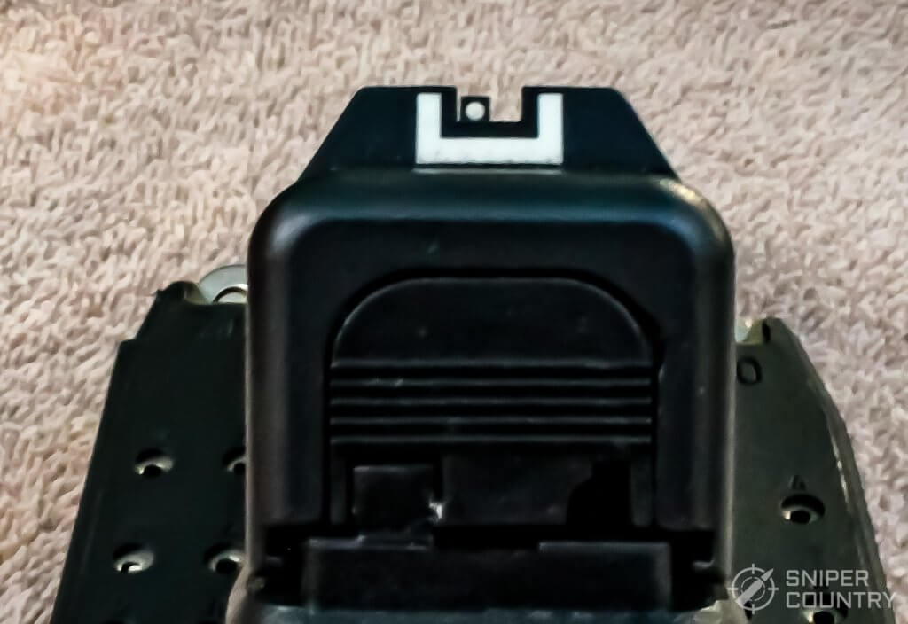 Glock 23 sight picture