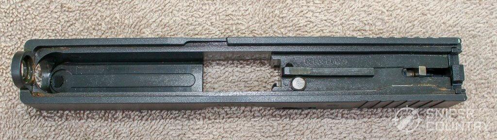 Glock 23 slide underneath