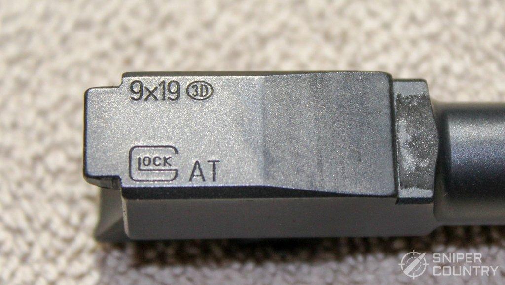 Glock 43 barrel engraving