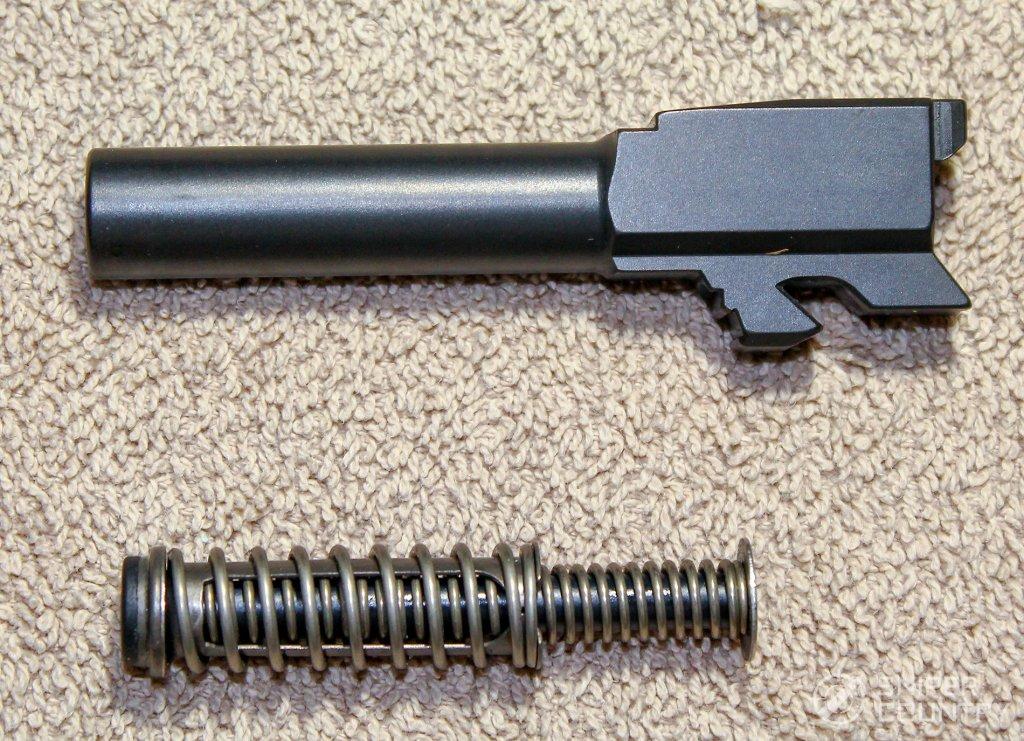 Glock 43 barrel recoil spring
