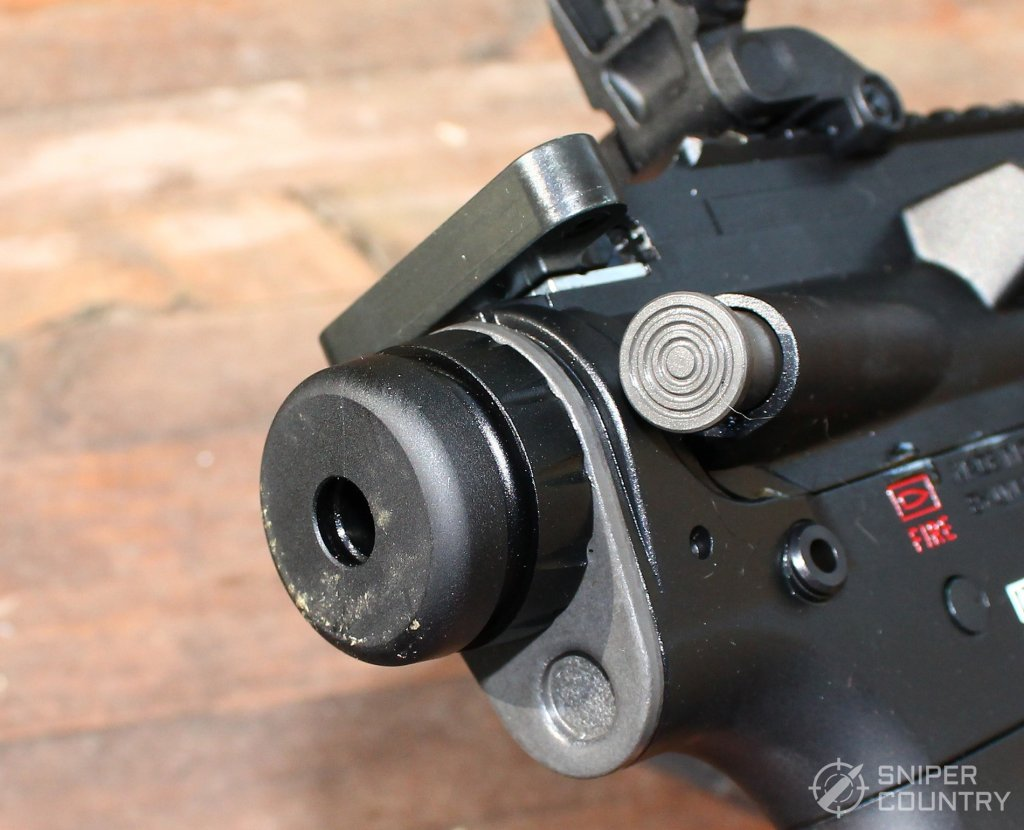 HK416 buffer tube hookup