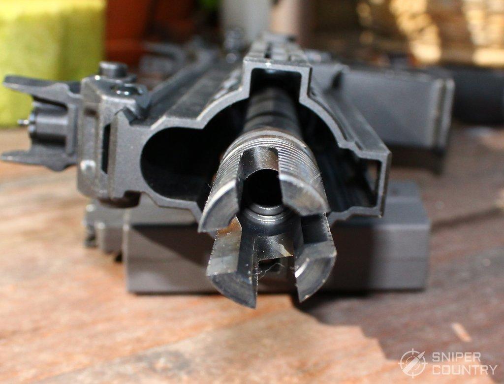 HK416 muzzle