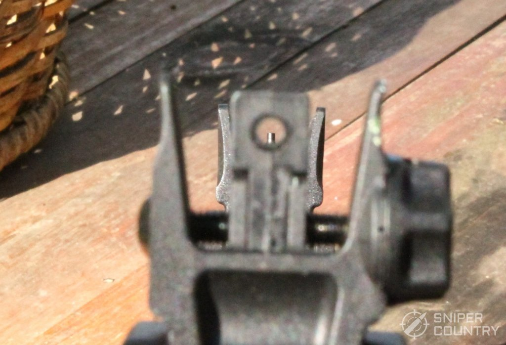 HK416 sight picture