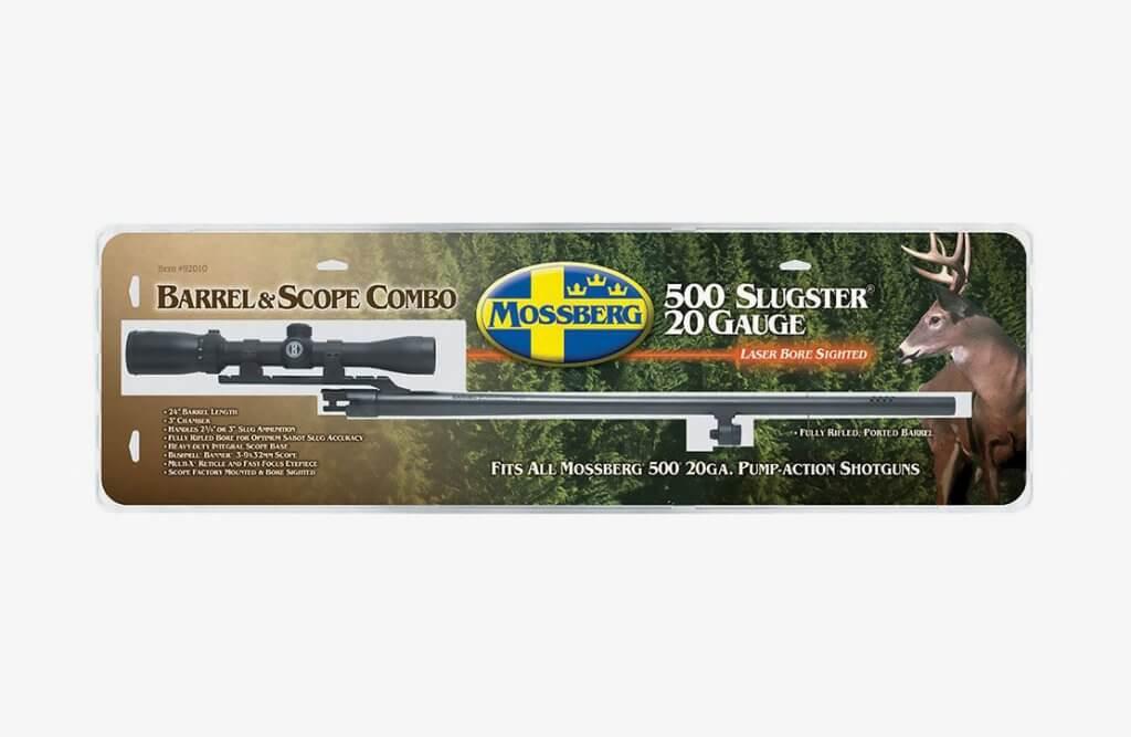 Mossberg Slugster 20-gauge barrel with 3-9X32 Scope