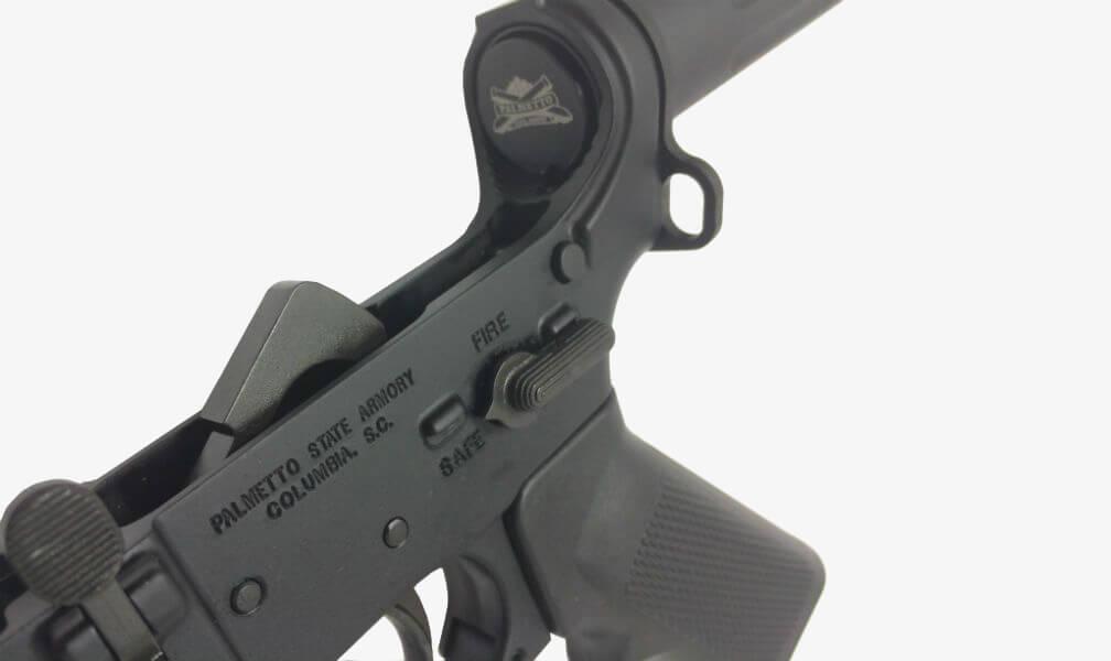 PSA AR-15 Complete Classic Pistol Lower inside