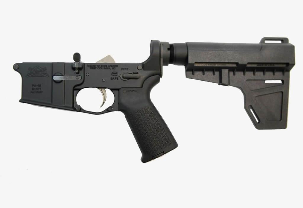 PSA AR-15 Complete MOE Shockwave EPT Pistol Lower