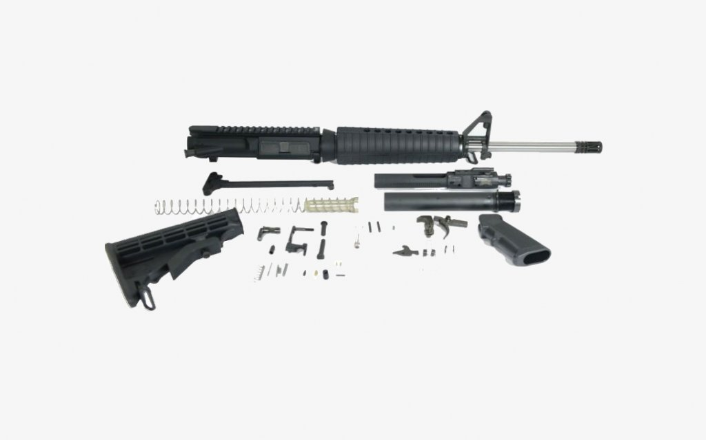 "PSA Gen 2 PA10 18"" Mid-Length Stainless Steel Build Kit"
