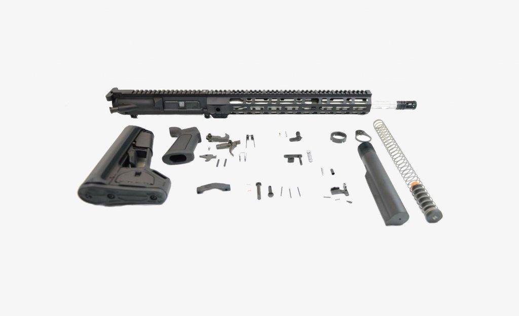 """PSA Gen 2 PA10 18"""" Midlength .308 M-LOK ACS-L Rifle Kit"""