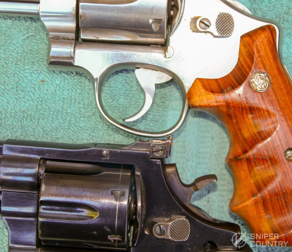 Taurus 44 and S&W cylinder releases