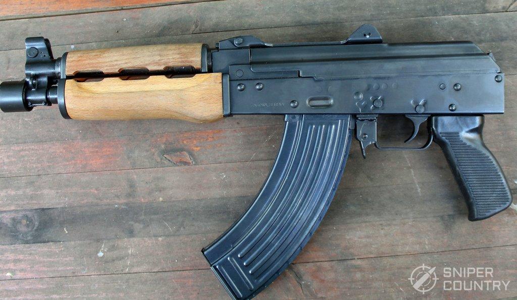 left side of the Zastava PAP M92