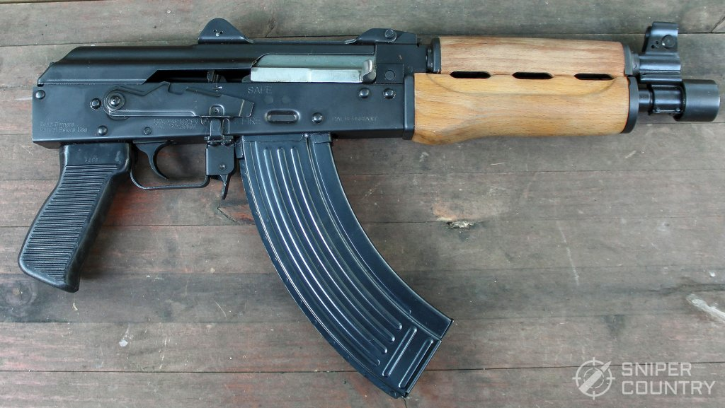 right side of the Zastava PAP M92