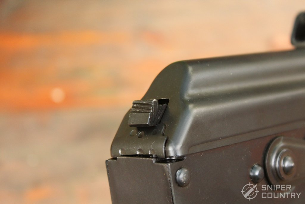 takedown latch of the PAP M92