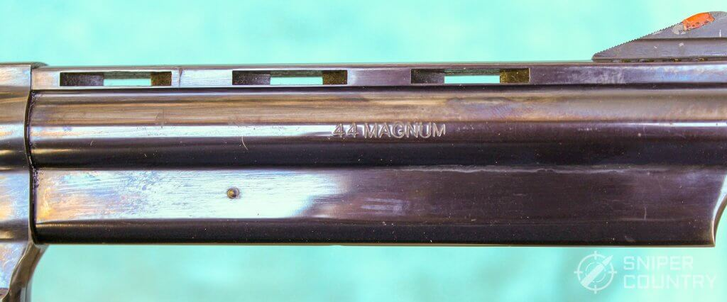 taurus 44 barrel right