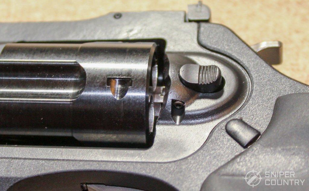 Ruger LCRx .357 cylinder release