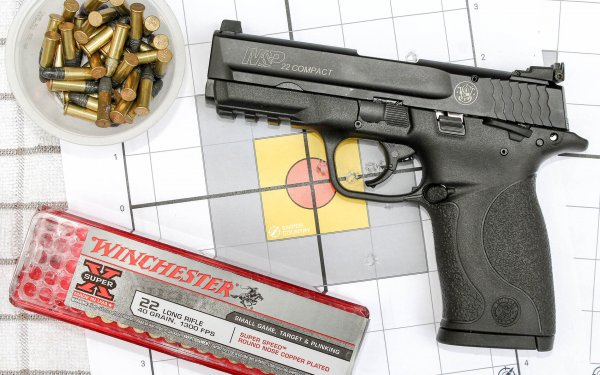 [Review] Smith & Wesson M&P .22 Compact