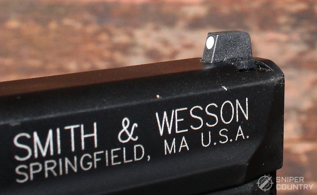 Smith & Wesson M&P 22 Compact front sight