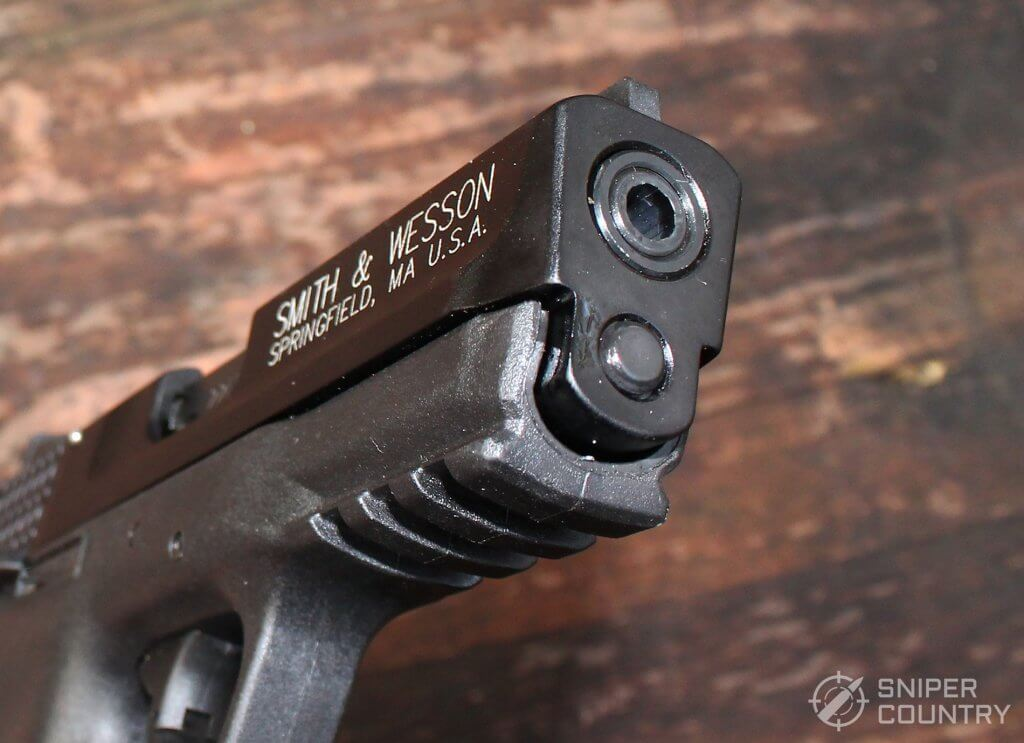 Smith & Wesson M&P 22 Compact muzzle