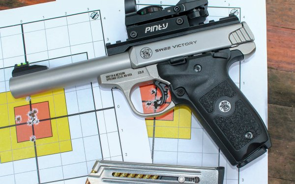 [Review] S&W SW22 Victory: Excellent .22 Pistol