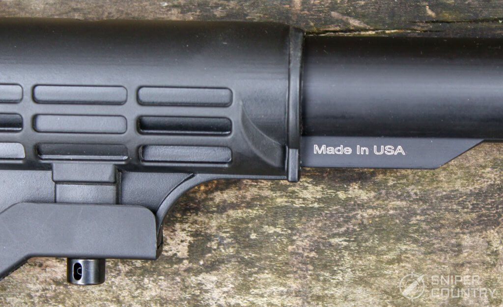 made in usa on the rifle