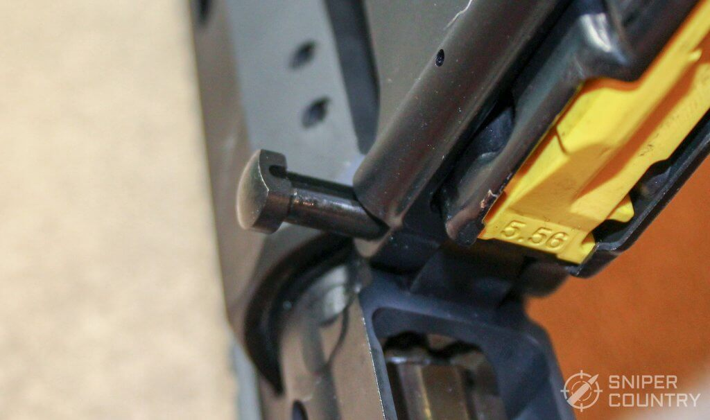 takedown pin of the MMR Carbine