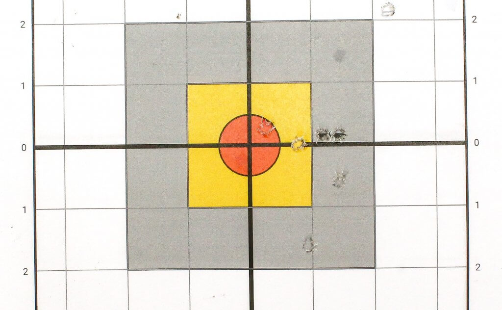 target shot with winchester