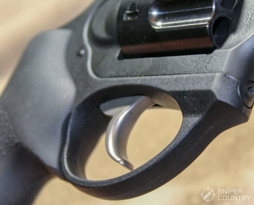 trigger and guard of the Ruger LCRx