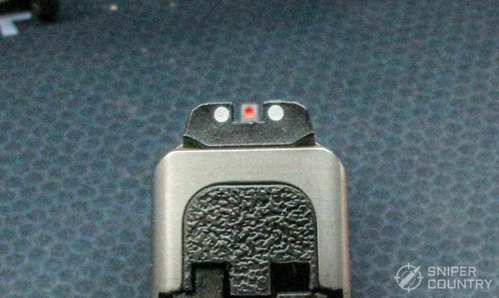 S&W SD9VE sight picture