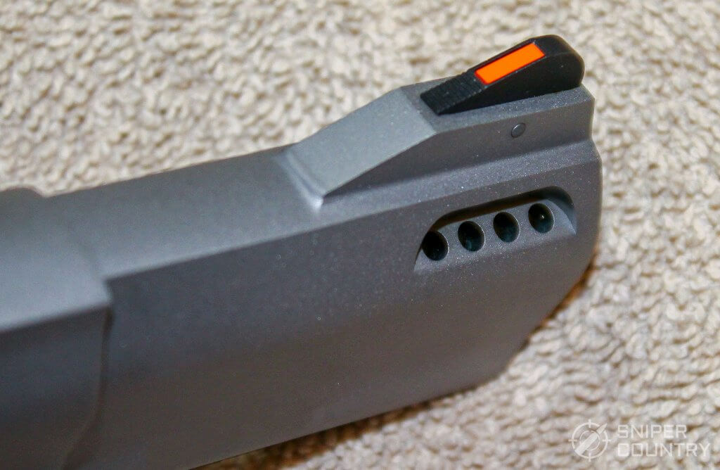 Taurus 692 front sight and ports