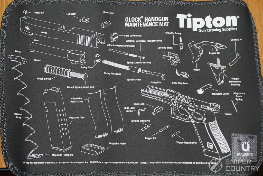 Tipton glock mat