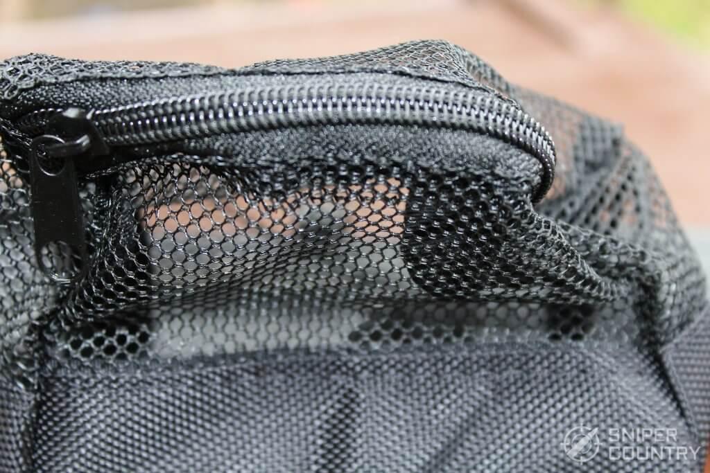 Brass catcher zipper