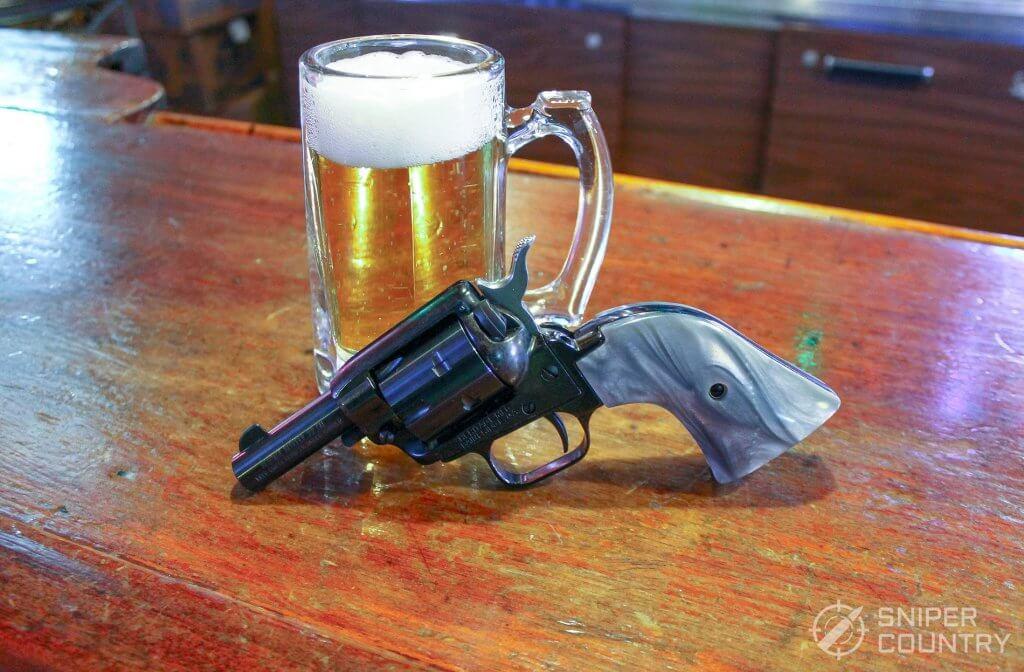 Heritage Barkeep and beer