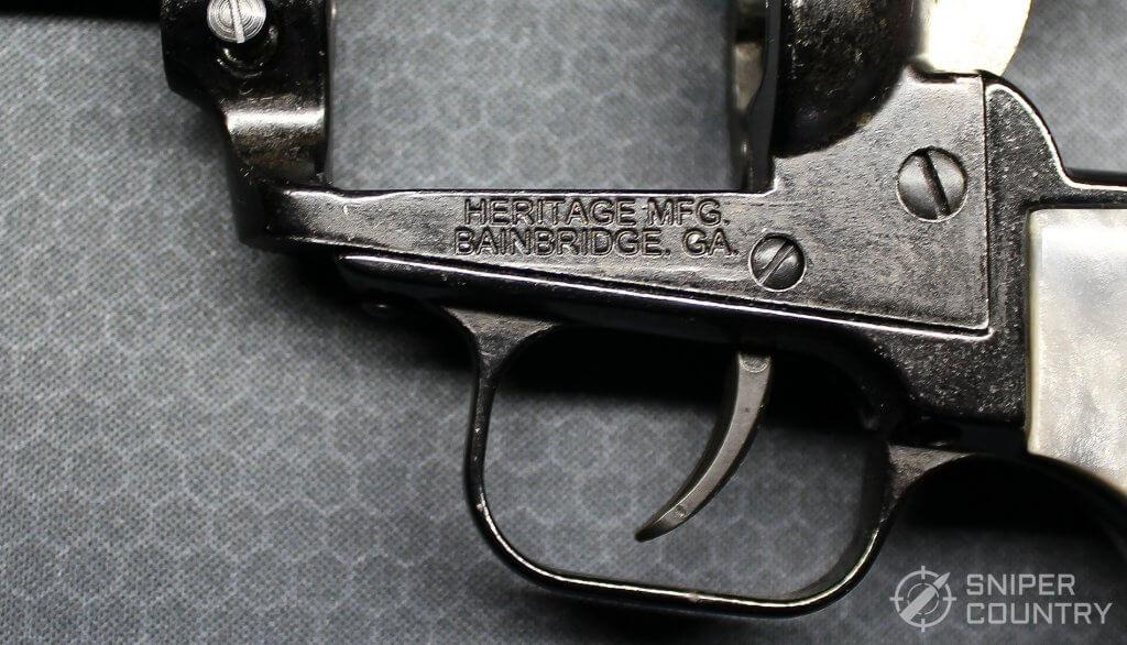 Heritage Barkeep frame engraving