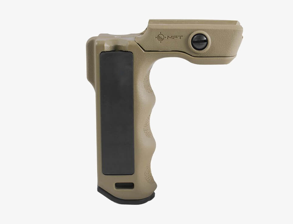 Mission Force Tactical React Magwell Vertical Grip tan