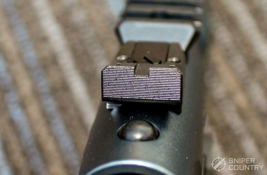 Ruger Mark IV Lite rear sight