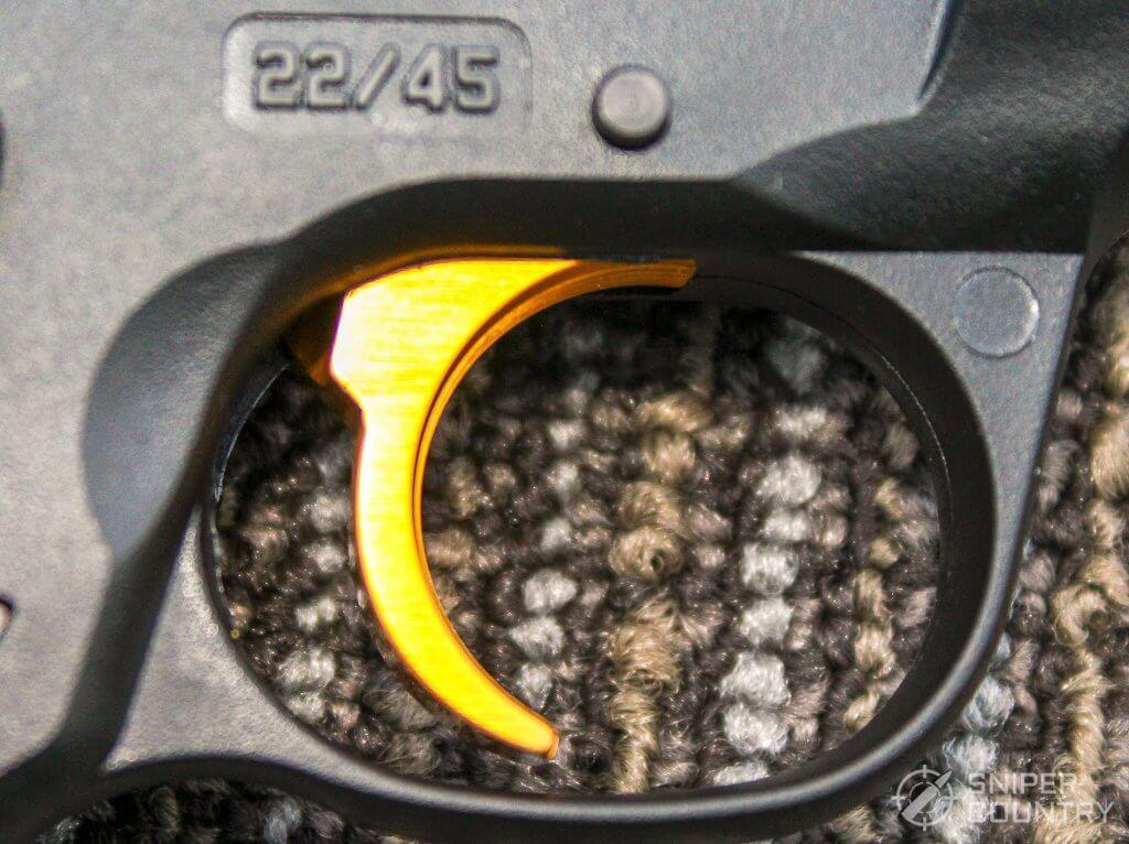Ruger Mark IV Lite trigger