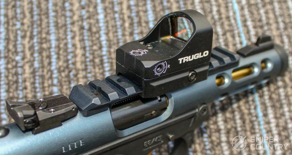 Ruger Mark IV Lite with red dot