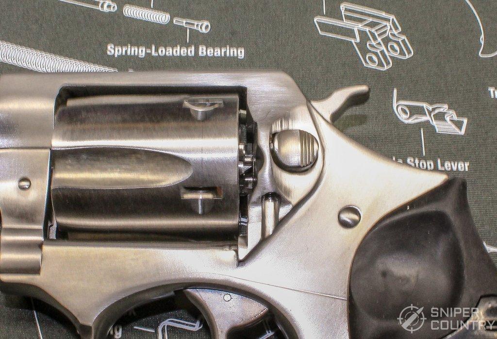 Ruger SP101 cylinder latch