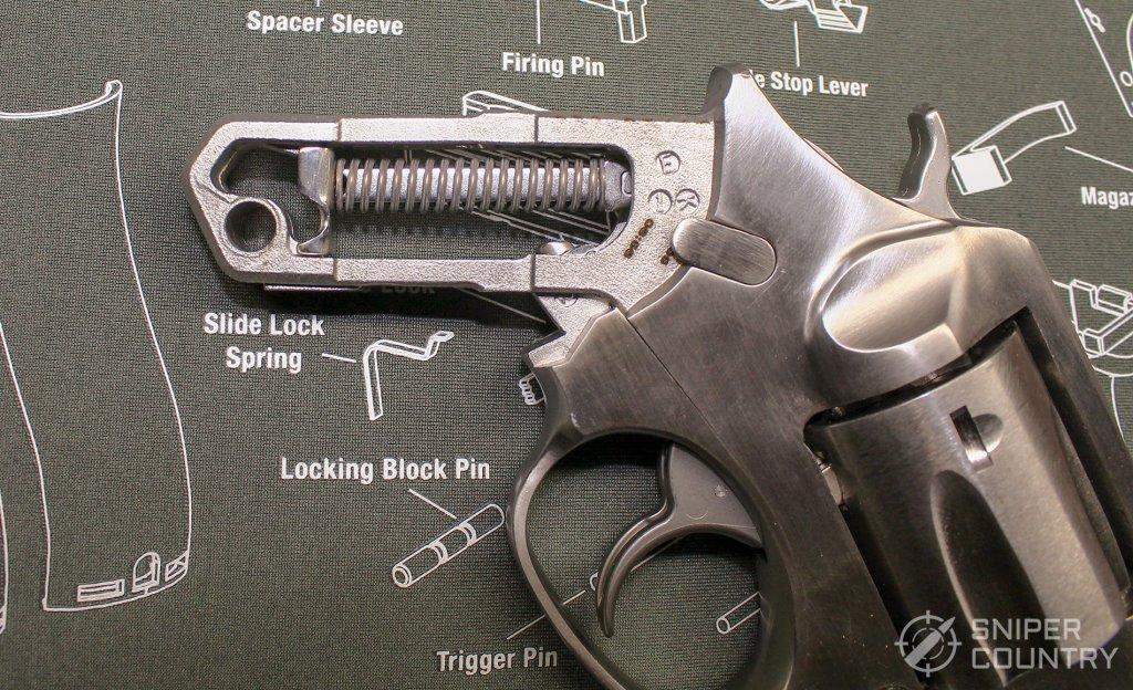 Ruger SP101 grip frame