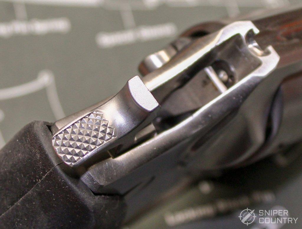 Ruger SP101 hammer spur