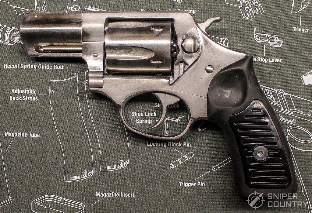 Ruger SP101 left side