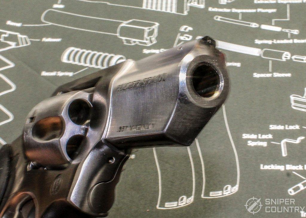 Ruger SP101 muzzle