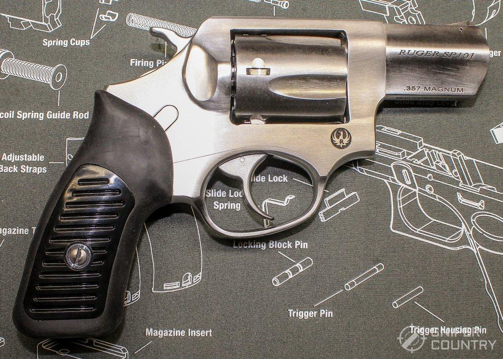 Ruger SP101 right side