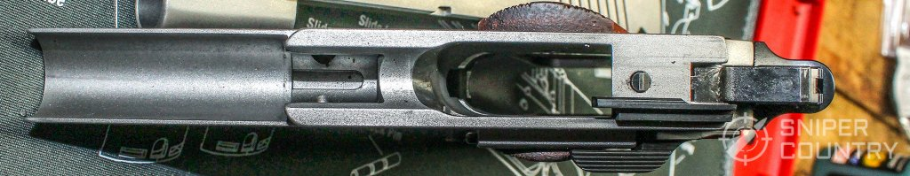 Ruger SR1911 Commander frame top