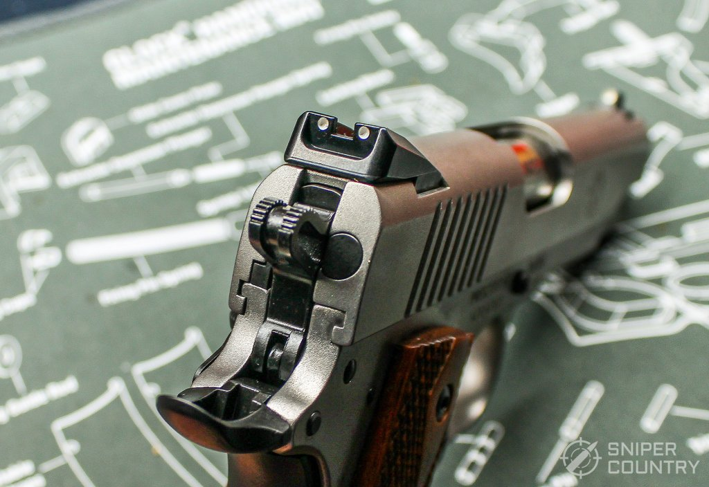 Ruger SR1911 Commander rear sight
