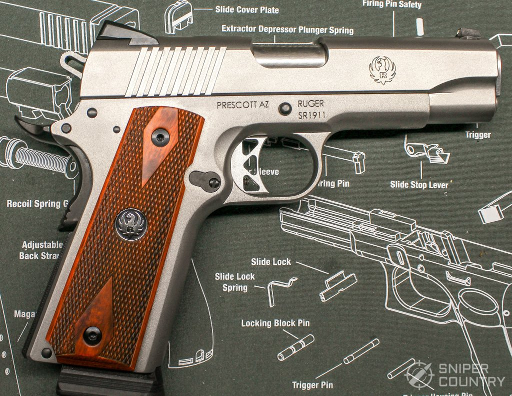 Ruger SR1911 Commander right side