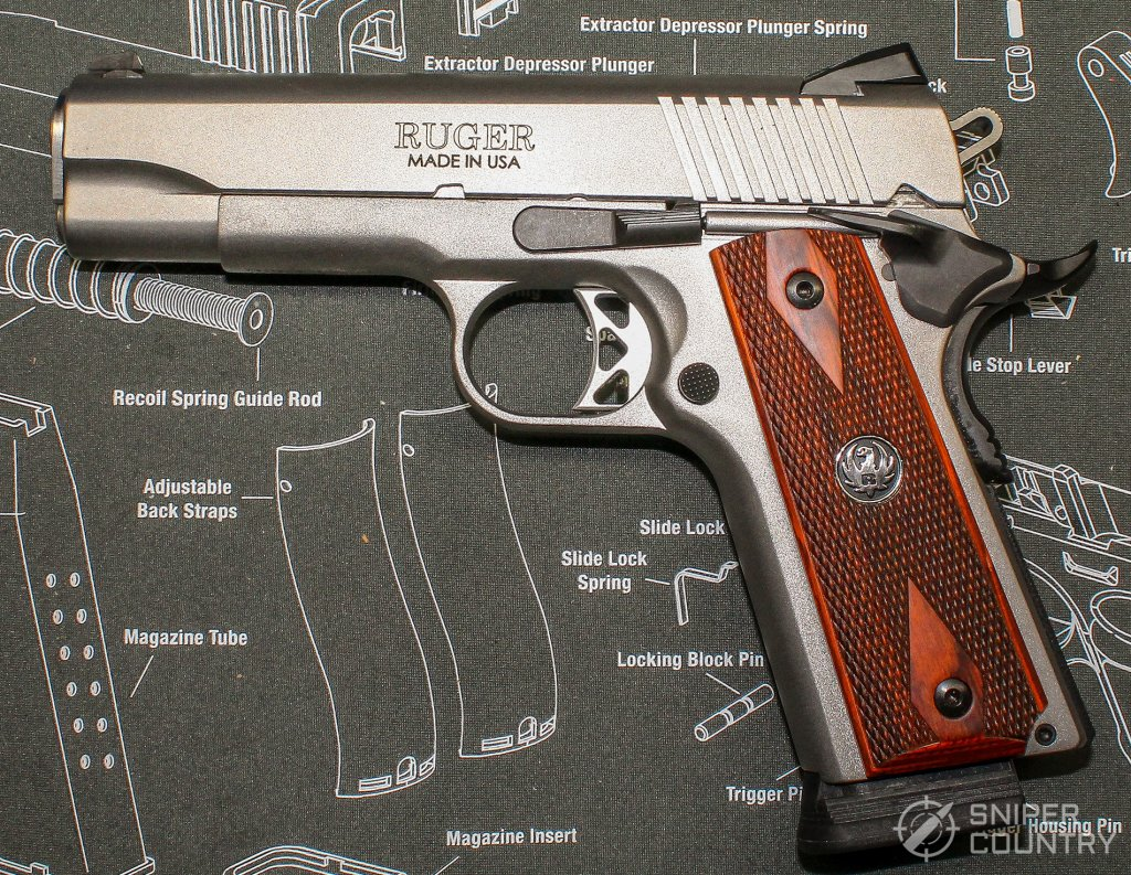Ruger SR1911 left side