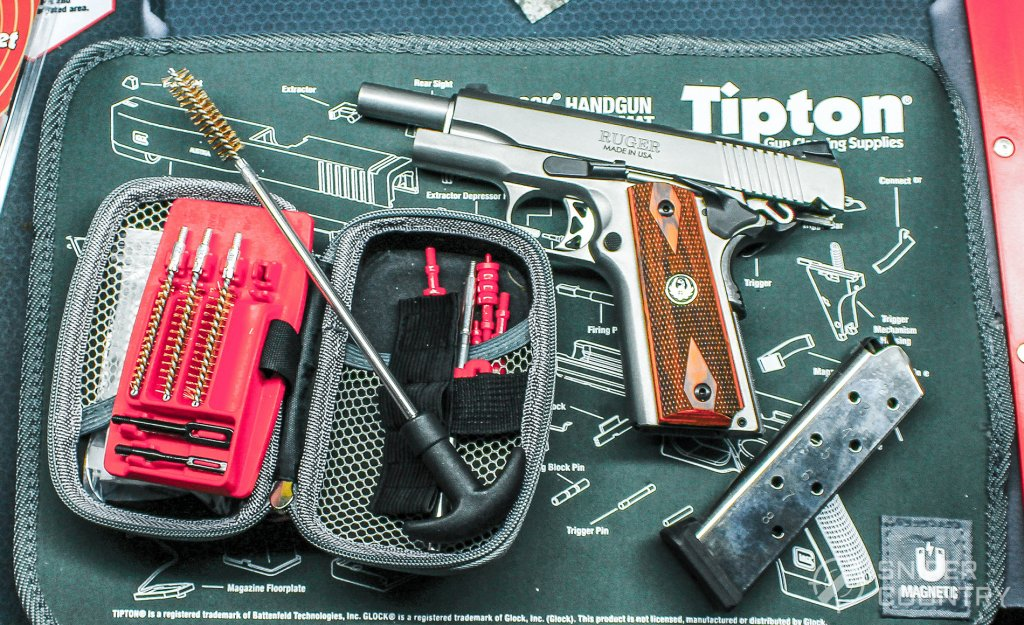 Ruger SR1911 with cleaning kit