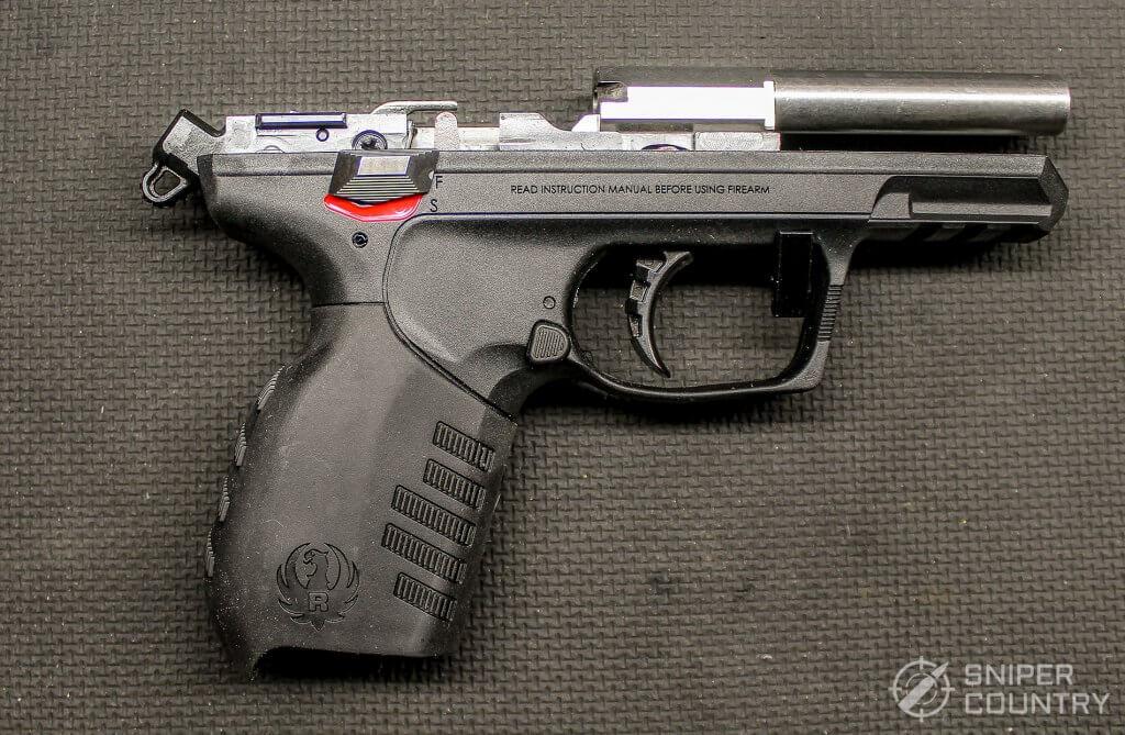 Ruger SR22 frame right