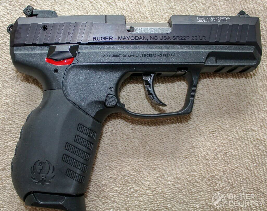 Ruger SR22 right side